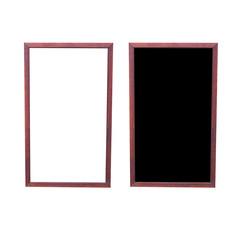 Window frame isolated on white background