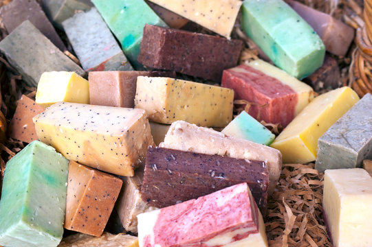 Colorful Soap bars