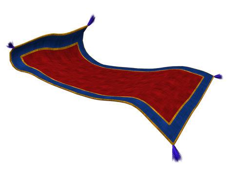 3D Magic Carpet Isolated