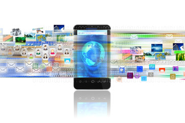 Smart Phone for Internet and Multimedia Sharing