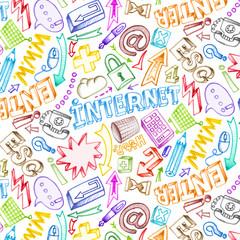 internet motif 3