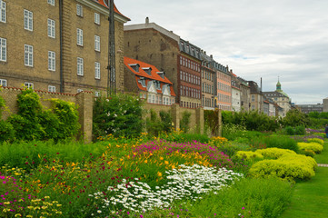 Beautiful gardens in Copenhagen