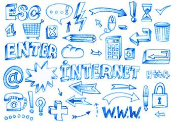 internet éléments