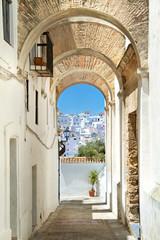 Obraz Biała wioska w Andaluzji - fototapety do salonu