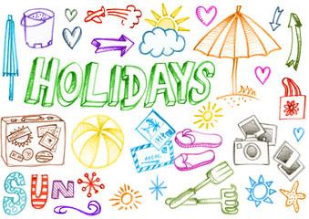 holidays éléments