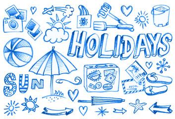 holidays éléments 1