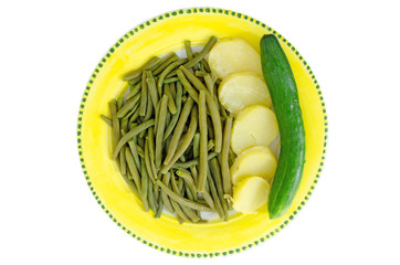 verdura vegetariano contorno