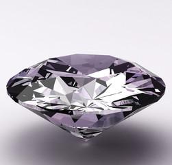 Brilliant diamond 3d