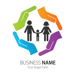 Company (Business) Logo Design, Vector, Peoples