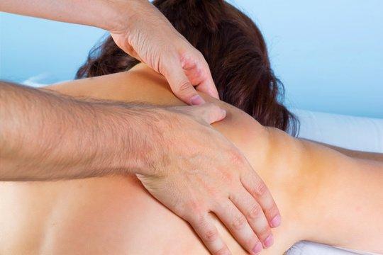 Fisioterapista, massaggio