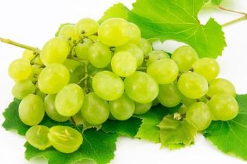 Uva bianca, frutta