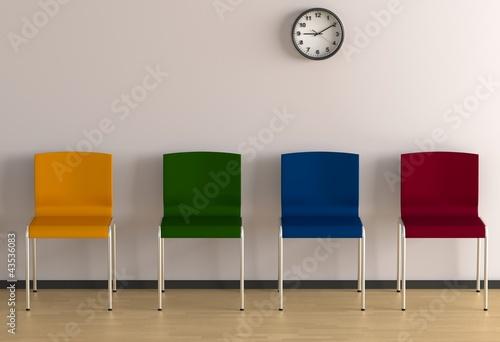 bunte st hle 2 stockfotos und lizenzfreie bilder auf. Black Bedroom Furniture Sets. Home Design Ideas