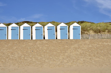 Beach hut in Vendée in France