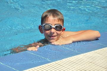 boy in  goggles