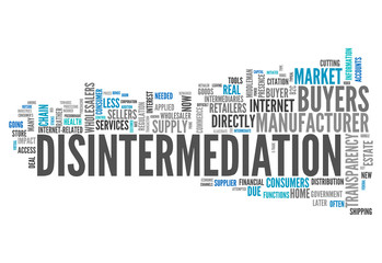 "Word Cloud ""Disintermediation"""