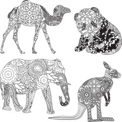 animals in the ornamentation