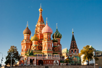 St. Basil Cathedral, Red Square, Moscow