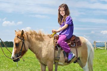child ride pony