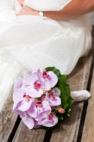 Brautstrauss Aus Orchideen Stock Photo And Royalty Free Images On