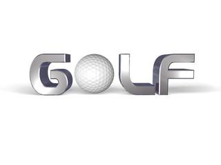 Scritta Golf