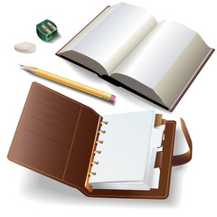 Set of office accessories