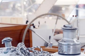 Barca a vela - dettaglio