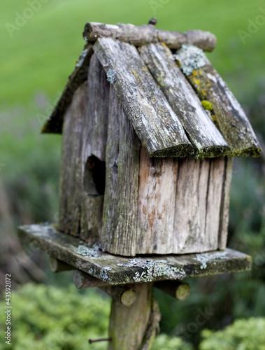 """Nichoir En Bois Pour Oiseaux : nichoir en bois pour oiseaux au jardin"""" photo libre de droits sur la"""
