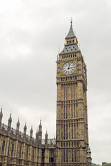 London's Big Ben Stock Photo