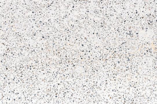 white and black terrazzo texture
