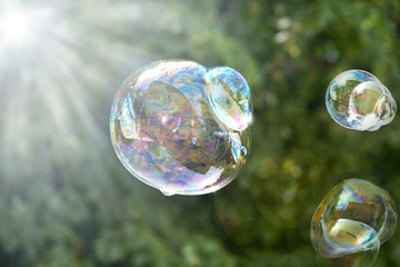 Seifenblasen, soap-bubbles