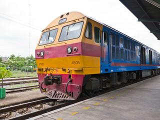 Thai locomotive
