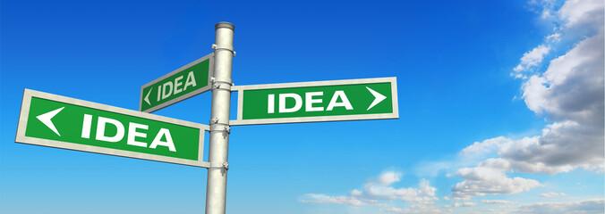 signpost IDEA
