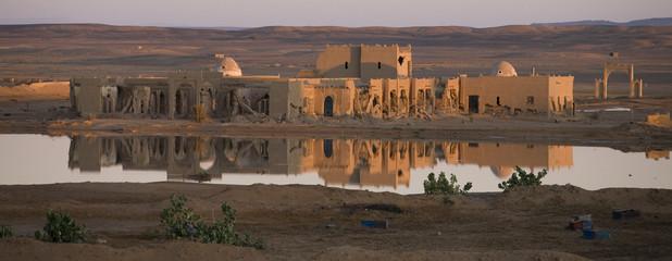 Foto auf AluDibond Marokko Merzouga