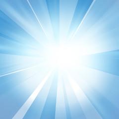 Intense sun