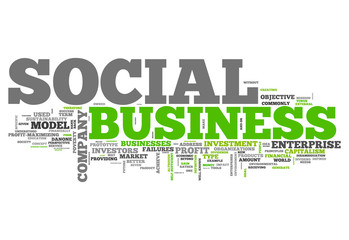 "Word Cloud ""Social Business"""