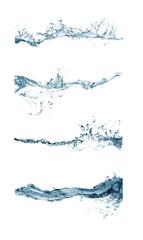 group of splashing water