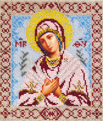 Orthodox religious Icon of saint Mother of God (Mary)