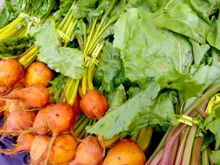 Orange beets