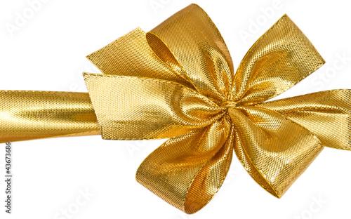 ruban dor emballage paquet cadeau photo libre de droits sur la banque d 39 images. Black Bedroom Furniture Sets. Home Design Ideas