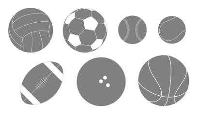 ball silhouette