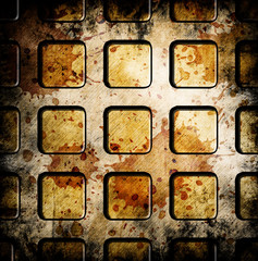 abstract grunge squares background