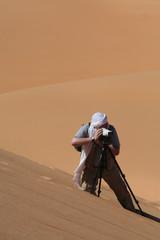 DSLR photography in the desert dune - Niger
