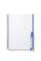 Back to School pupils note pad and pen