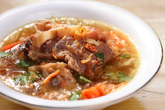 Asian food, Oxtail soup
