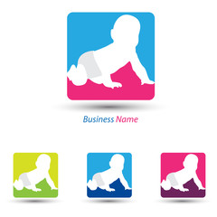 logo baby diaper