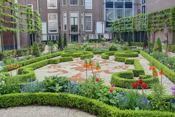 jardin à amsterdam