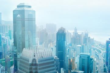 Hong Kong business center