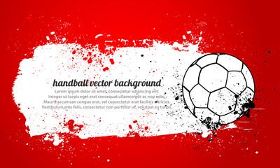Grunge Handball
