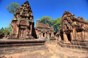 temples Banteay Srey, Cambodia