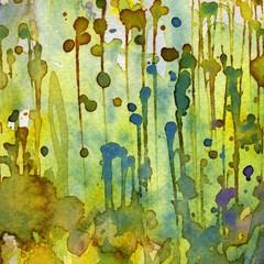 Printed kitchen splashbacks Painterly Inspiration Artystyczne tło akwarelowe,